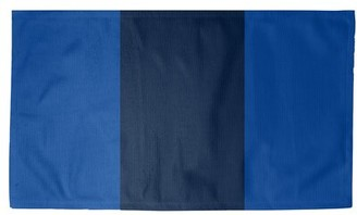 Blue Area NHS National Hockey Stripes Royal Rug East Urban Home Rug Size: Rectangle 5' x 7', Non-Skid Pad: Yes