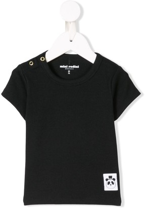Mini Rodini logo patch T-shirt
