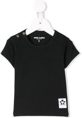 Mini Rodini logo patch T-shirt