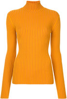 Le Ciel Bleu ribbed knit jumper