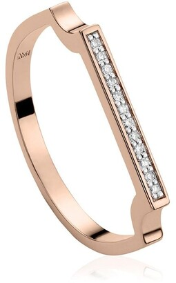 Monica Vinader Signature Thin Diamond ring
