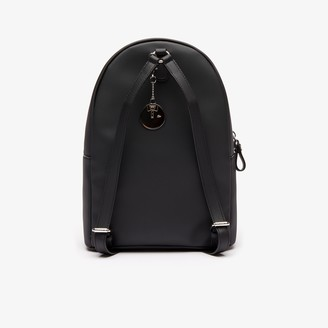 Lacoste Women's Daily Classic Coated Canvas Backpack