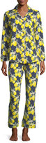 BedHead Let's Make Lemonade Long-Sleeve Pajama Set