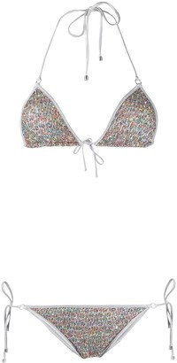 Missoni Mare Knit Sequin Embellished Bikini