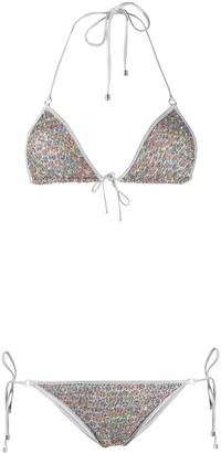 Missoni Mare Knit Sequin Embellished Bikini