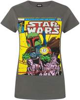 Star Wars Official Boba Fett Comic Women's T-Shirt (L)
