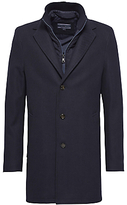 Tommy Hilfiger Chase Twill Overcoat, Sky Captain