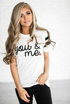 Ampersand Avenue You & Me Tee