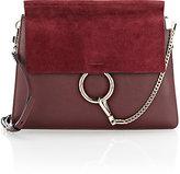 Chloé Women's Faye Medium Shoulder Bag-DARK PURPLE