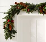 Pottery Barn Live English Holiday Garland