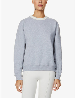 Vaara May organic cotton-jersey sweatshirt