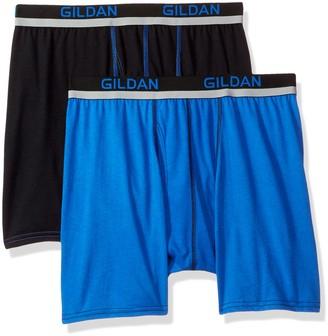 Gildan Men's Active Polyester Boxer Briefs 2-Pack