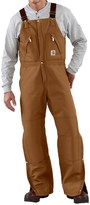 Carhartt Quilt-Lined Duck Bib Overalls (for Men)
