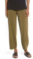 Eileen Fisher Petite Women's Stretch Organic Cotton Lantern Pants