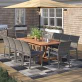 Sol 72 Outdoor Brighton 11 Piece Dining Set with Cushions Sol 72 Outdoor