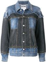 Moschino patchwork denim jacket