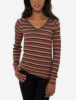 The Limited Striped V-Neck Pullover