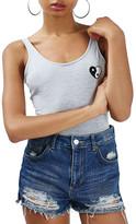 Topshop Yin Yang Heart Bodysuit