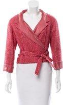 Chanel Bouclé Wrap Jacket