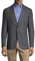 Gant Oxford Wool Notch Lapel Blazer
