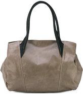 Yohji Yamamoto double straps tote - women - Horse Leather - One Size