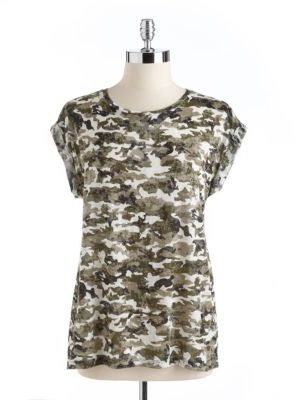 Vince Camuto TWO BY Camo Tee
