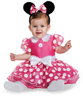 Disguise Minnie Mouse Pink Prestige Costume Set - Infant
