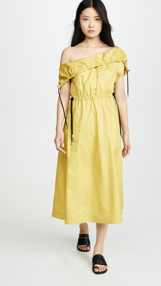3.1 Phillip Lim Cold Shoulder Parachute Utility Dress