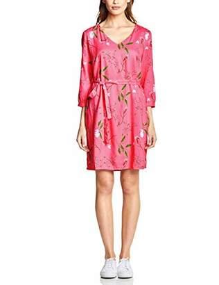 Street One Women's 2412 Dress, Multicolour (Blossom Pink 317)