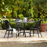 Williams-Sonoma La Coupole Indoor/Outdoor Dining Table, Round Pietra Cardoza Top