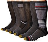 Gold Toe Men's 6-Pack Fashion Sport Crew Socks