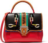 Paula Cademartori Petite Faye embellished leather shoulder bag