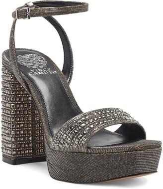 Vince Camuto Ankle Strap Platform Sandal