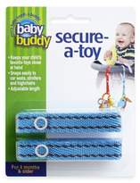 Baby Buddy Secure-a-Toy Straps in Blue/Brown (Set of 2)