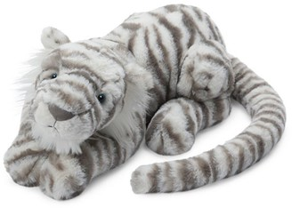 Jellycat Kid's Sacha Snow Tiger Plush Toy