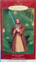 Hallmark Keepsake Ornament Collector's Series Obi- Wan Kenobi Old
