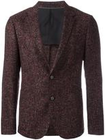 Z Zegna flocked pattern blazer