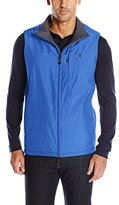 Izod Men's Reversible Rip Stop Nylon Vest