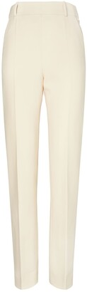 Tory Burch Slim Flat-Front Pant