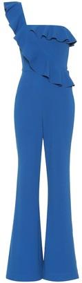 Rebecca Vallance One-shoulder crepe jumpsuit