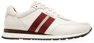 Bally Ascona Aston Striped Leather Runners