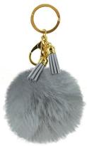 Lavello Silver Puff Keychain