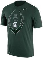 Nike Men's Michigan State Spartans Legend Football Icon Dri-FIT Tee