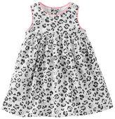 Osh Kosh 2-Piece Sparkle Leopard Print Dress