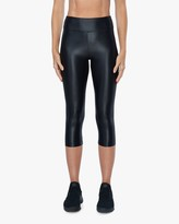 Koral Lustrous High-Rise Capri Leggings