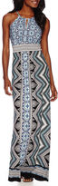 London Times London Style Collection Sleeveless Maxi Dress