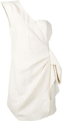 Victoria Victoria Beckham One-Shoulder Dress