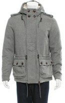Moncler Virgin Wool Dijon Down Jacket