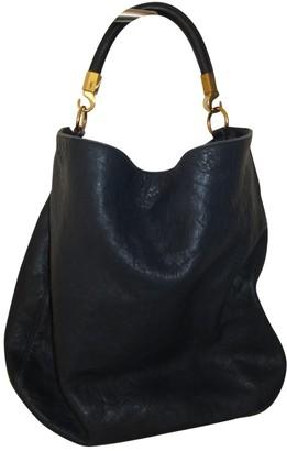 Saint Laurent Roady Navy Leather Handbags