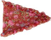 Balenciaga Losange floral headscarf - women - Silk - One Size